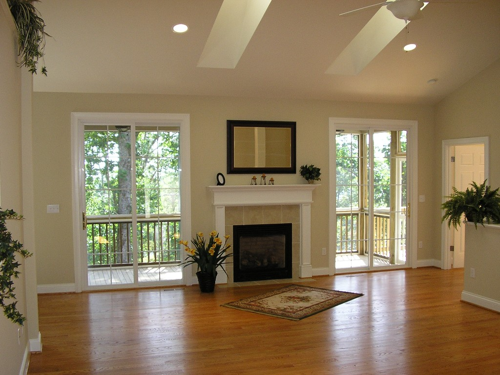 home features - Hardwood Floors Living Room